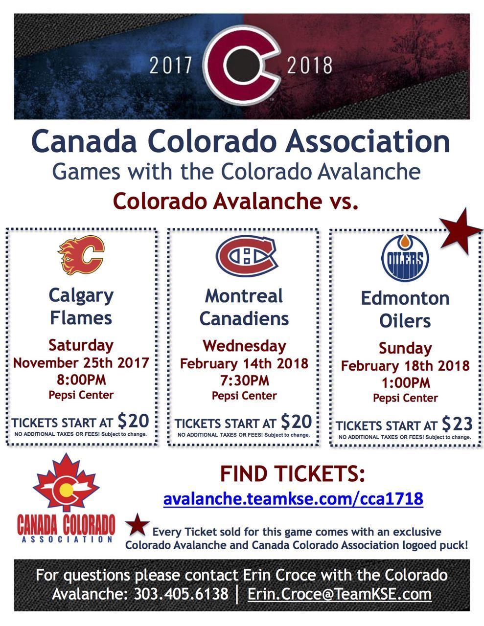 Games workshop colorado - 2017 2018 Canada Colorado Avalanche Games